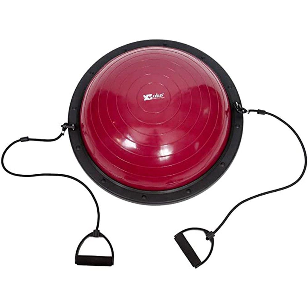 Powershot Bosu Ball One Size Green Fluo