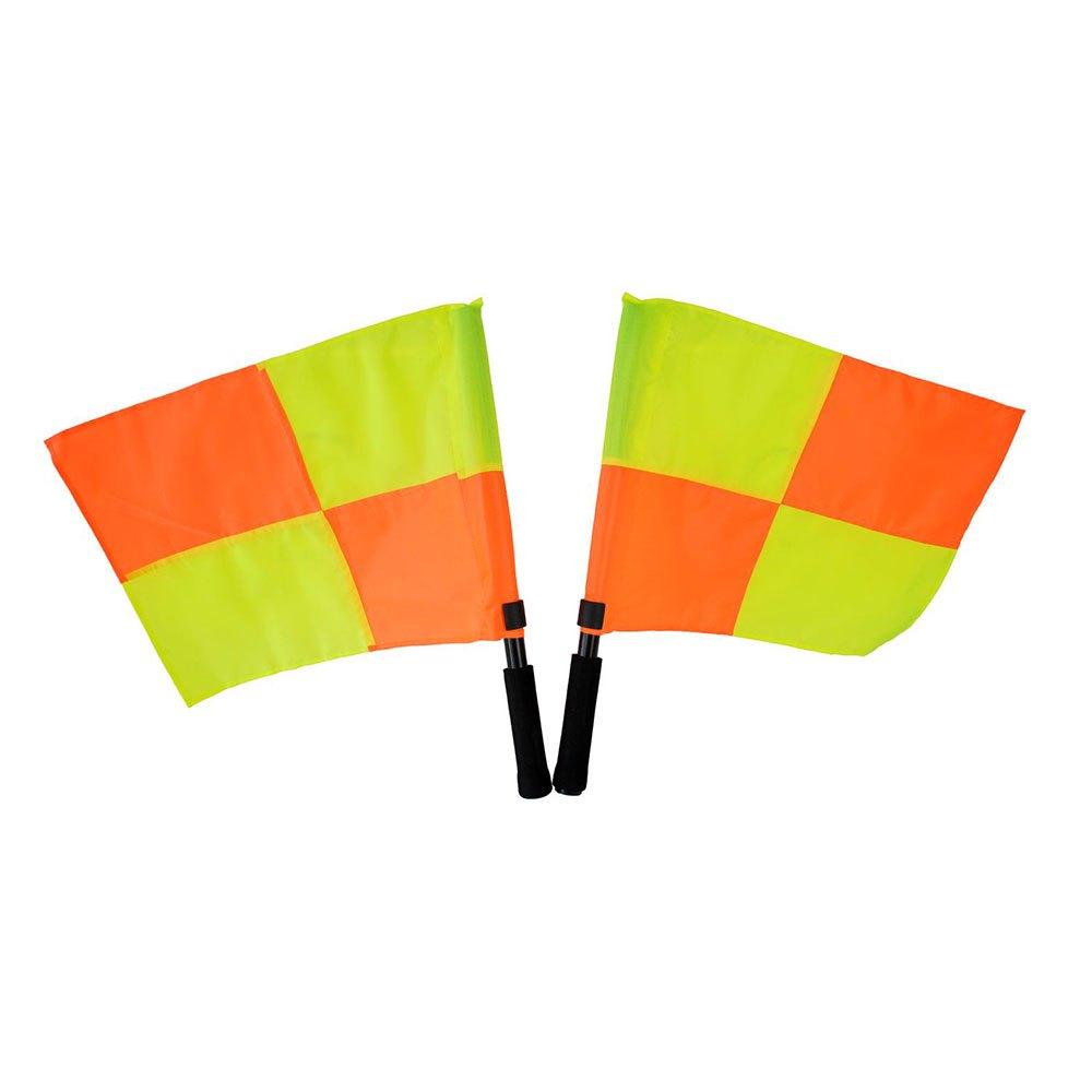 Powershot Drapeau D´arbitre Assistant 2 Unités One Size Orange / Yellow