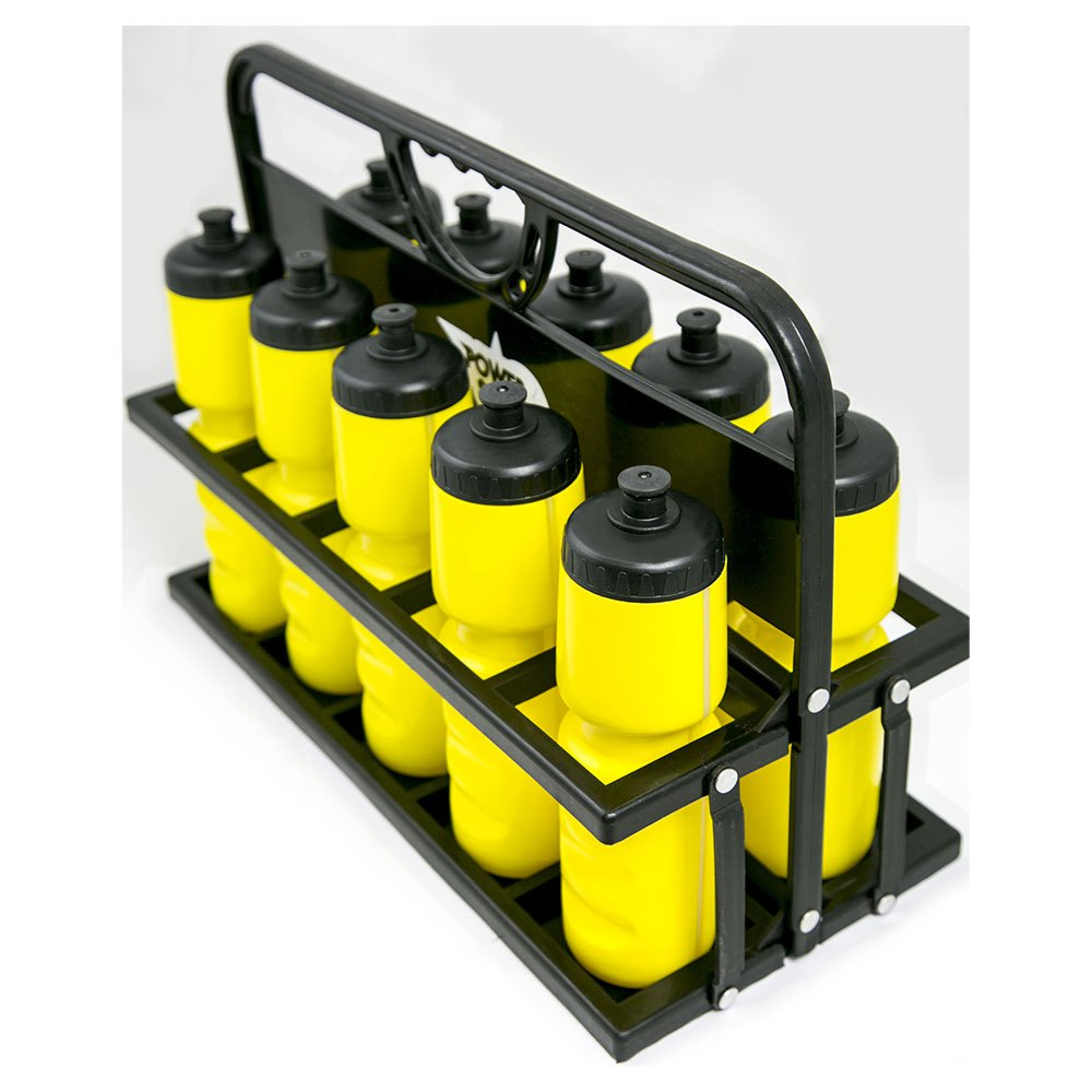 Powershot Carrier With 10 Bottles One Size Black / Yellow