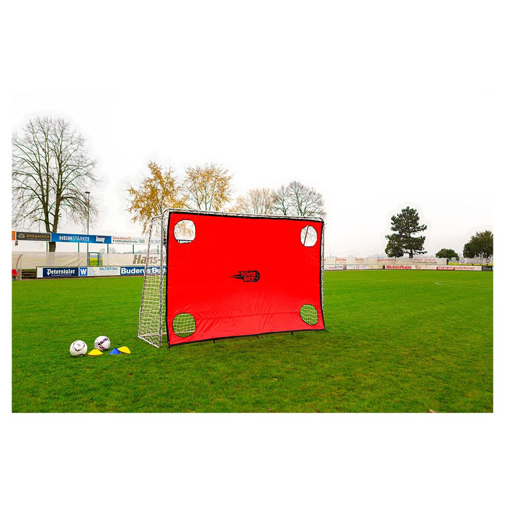Powershot Target Shot For Football Goals 300 x 200 cm Multicoloured