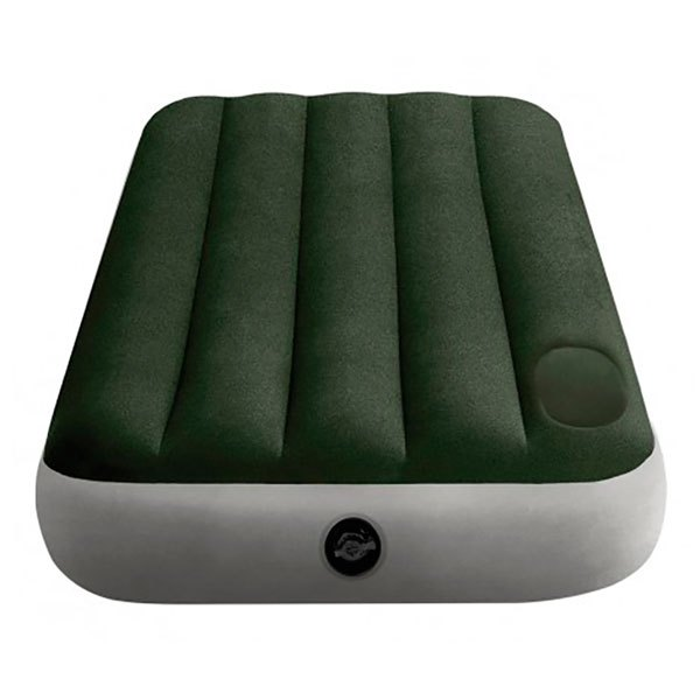 Intex Twin Camping With Fiber-tech 76 x 191 x 25 cm Green / Grey