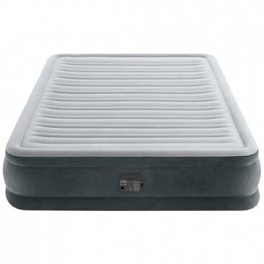 Intex Fiber-tech Comfort Plush 152 x 203 x 33 cm Grey