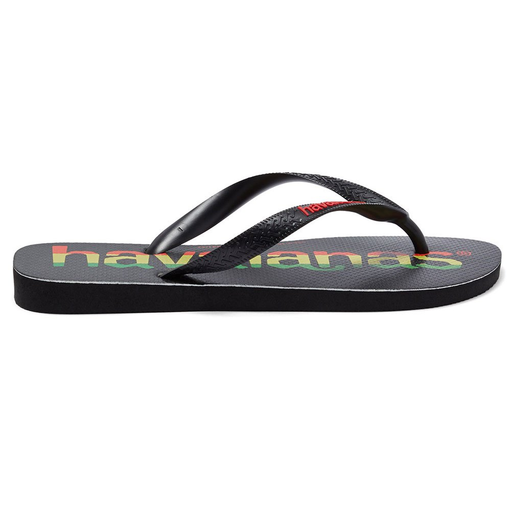 Havaianas Top Logomania EU 27-28 Black / Black / Ruby Red