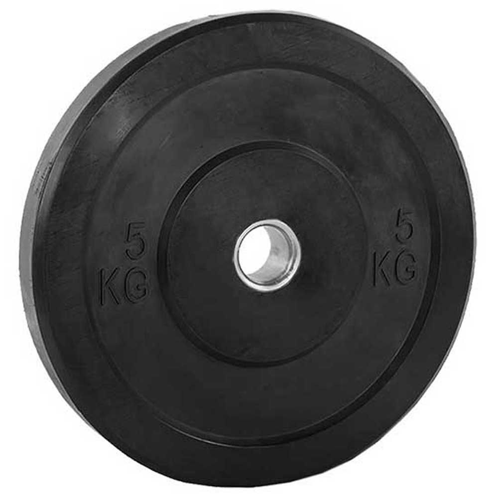 Softee Bumper Plate 5 kg Black