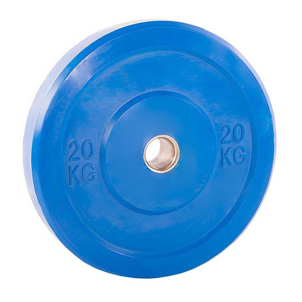Softee Bumper Plate 20 Kg 20 kg Blue