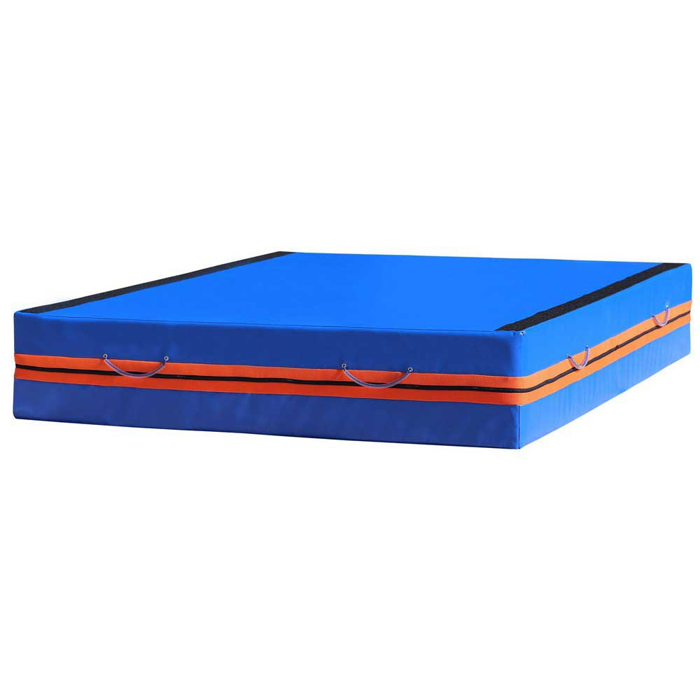 Softee Mattress Reception Solidary 250 x 200 x 40 cm Blue / Orange