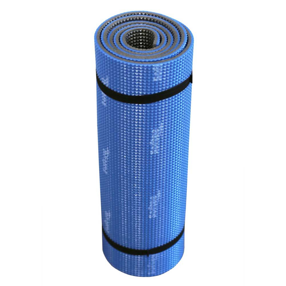 Softee Two Colored Camping Mat 180 x 50 x 1 cm Blue / Grey