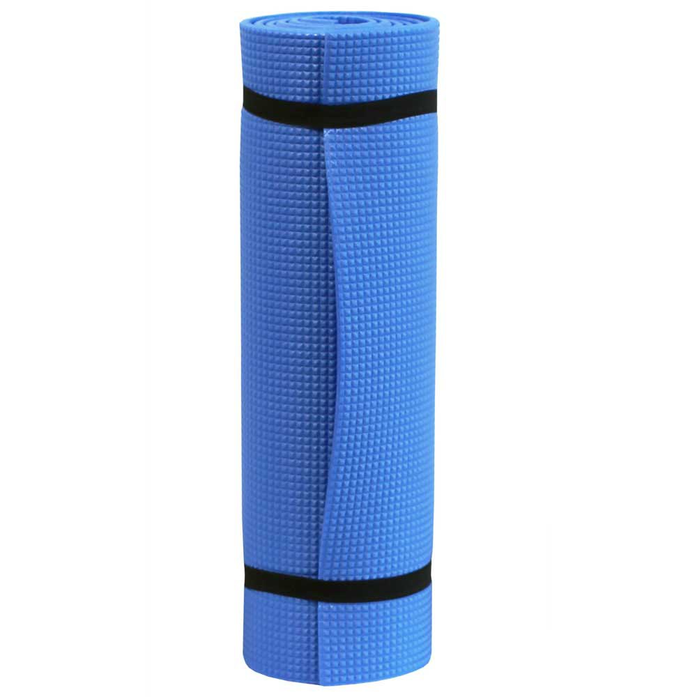 Softee One-color Camping Mat 180 x 50 x 1 cm Blue