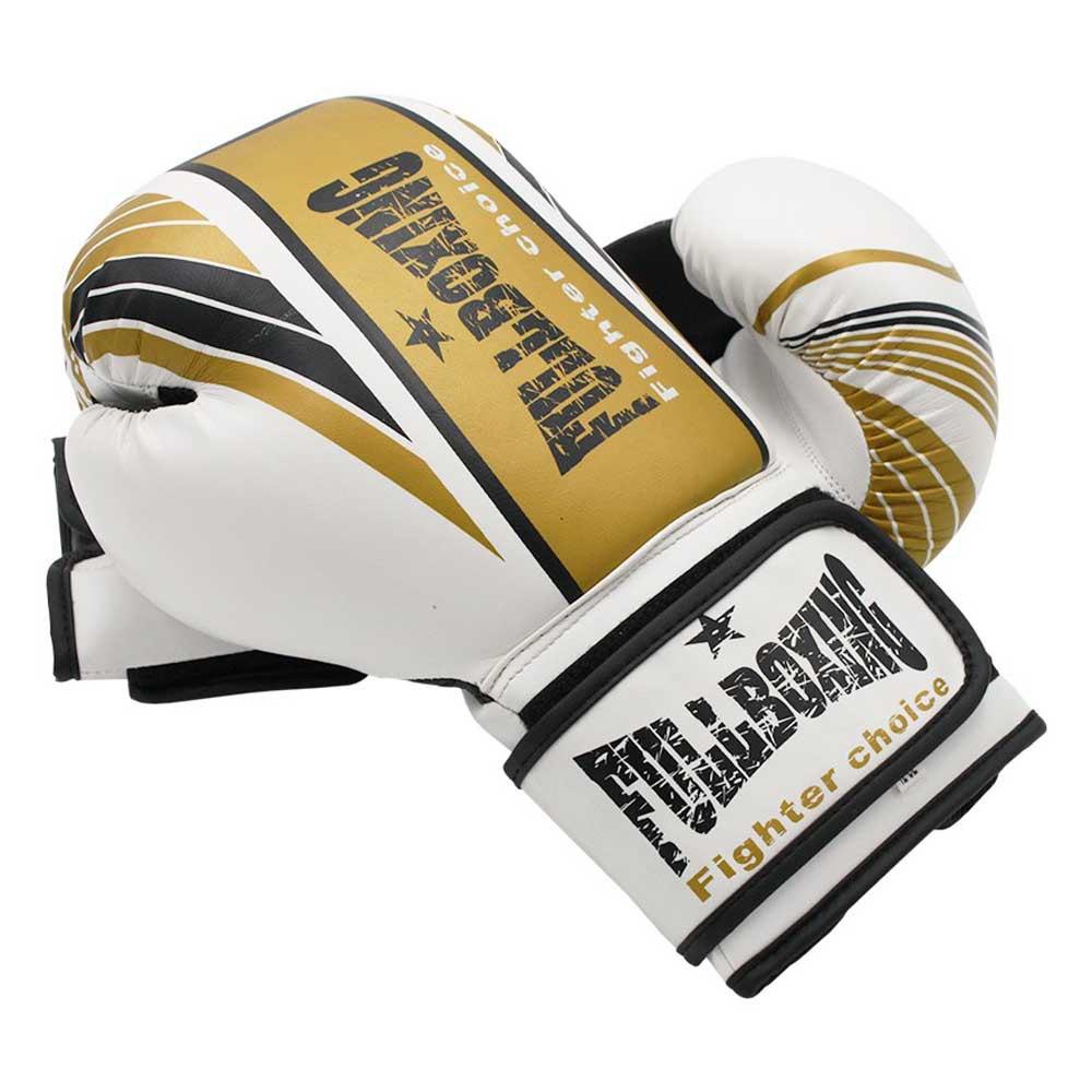 Softee Gants Combat Grand Vent 12 Oz White / Black / Golden
