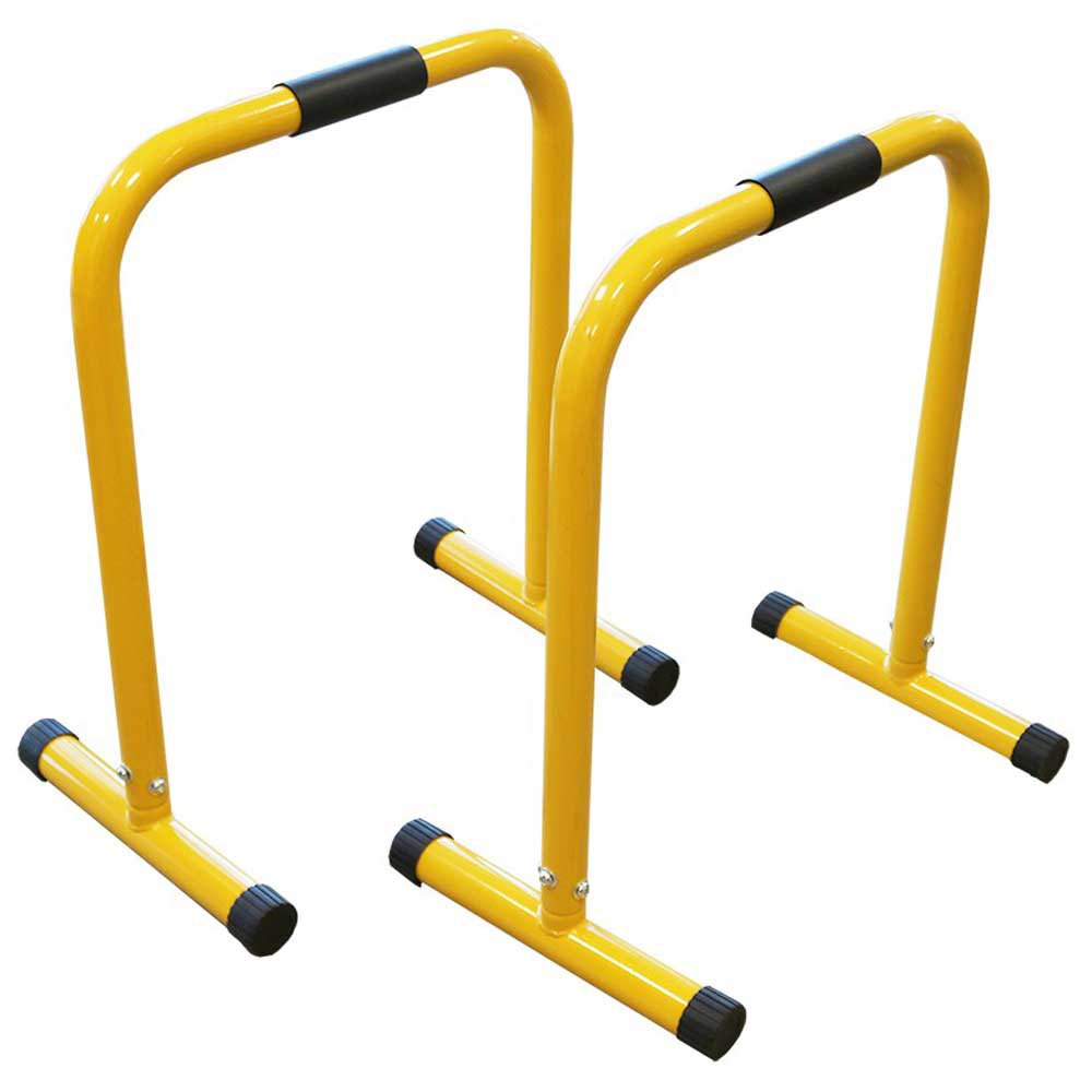 Softee Triceps Dips Bar 67 x 58 x 39 cm Yellow
