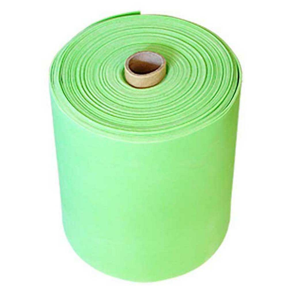 Softee Resistance Rubber Fitness Band Medium 25 M 15 x 250 cm Green