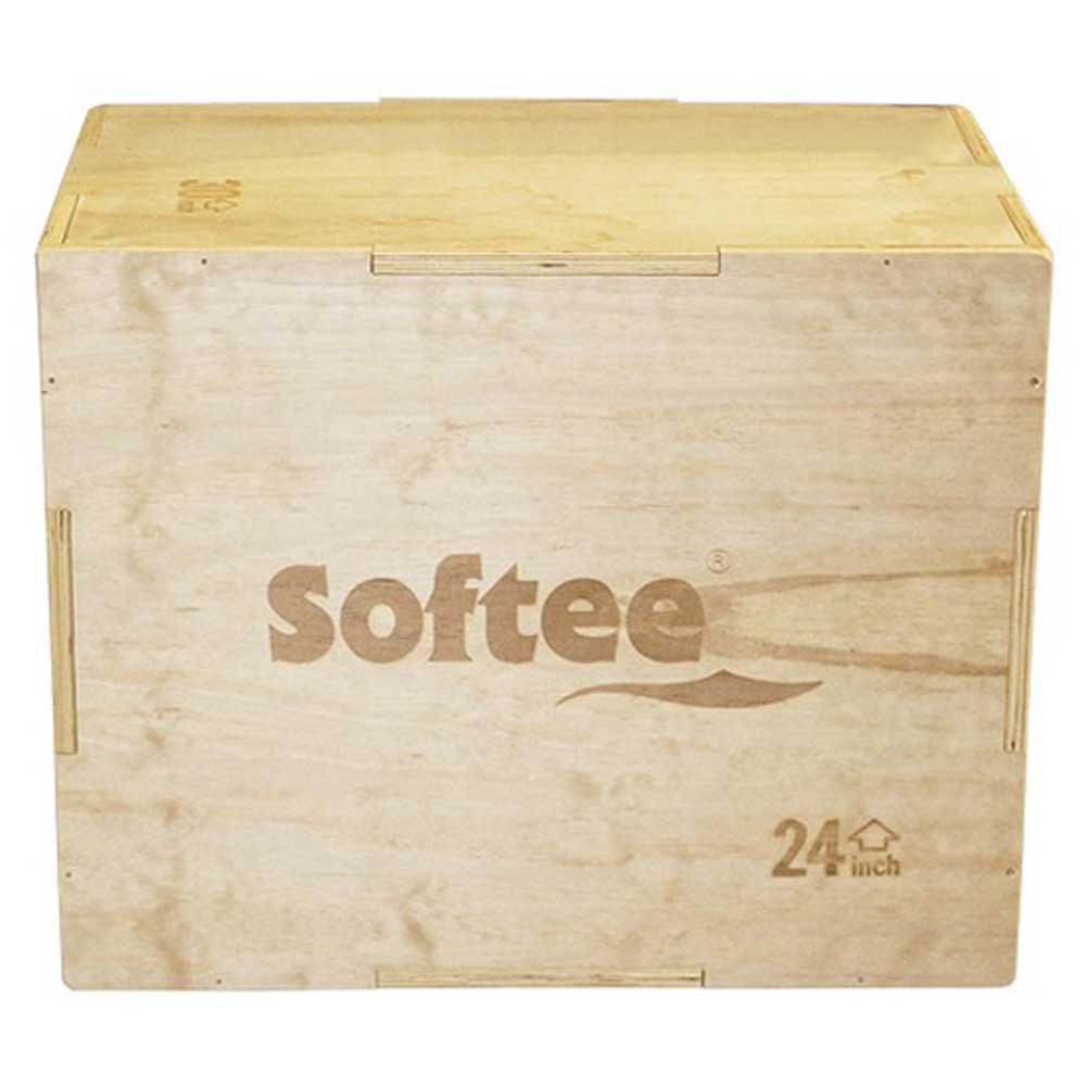 Softee Wooden Plyo Box 50 x 60 x 75 cm Wood