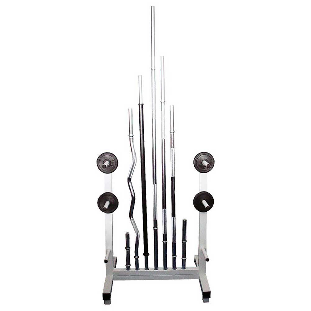 Softee Plates And Bars Rack One Size White