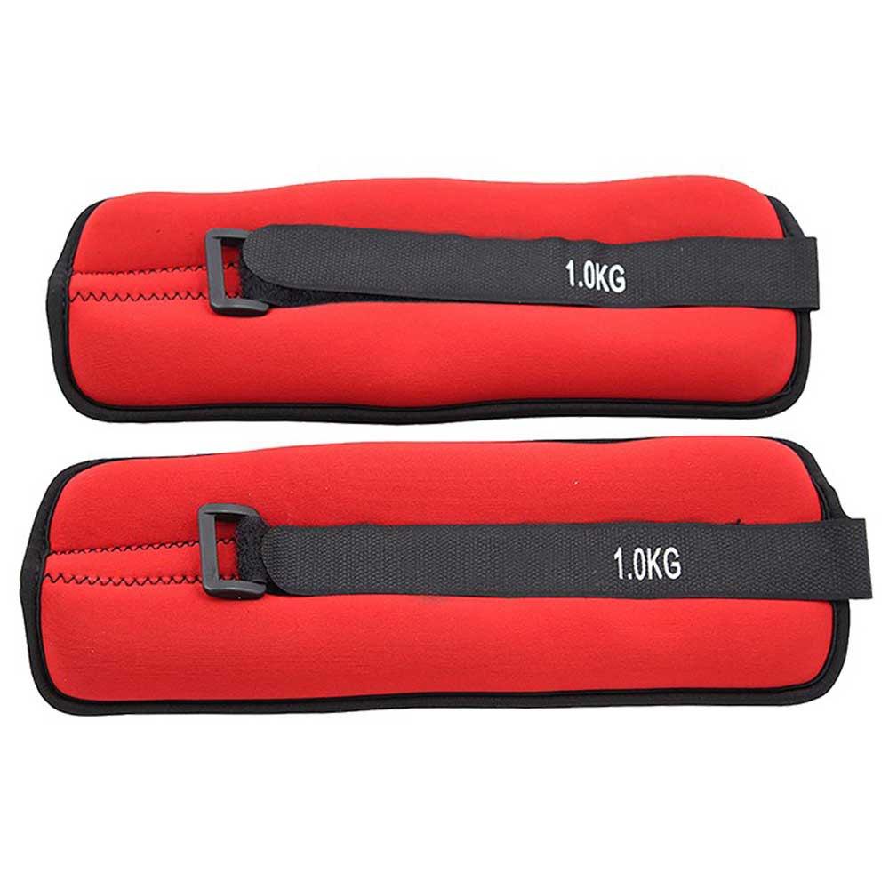 Softee Adjustable Angle / Wrist Weight Set 1 Kg 1 kg Red
