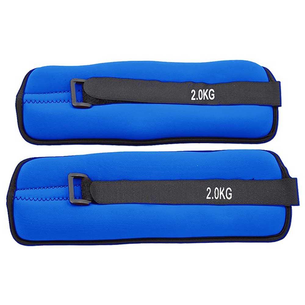 Softee Adjustable Angle / Wrist Weight Set 2 Kg 2 kg Royal