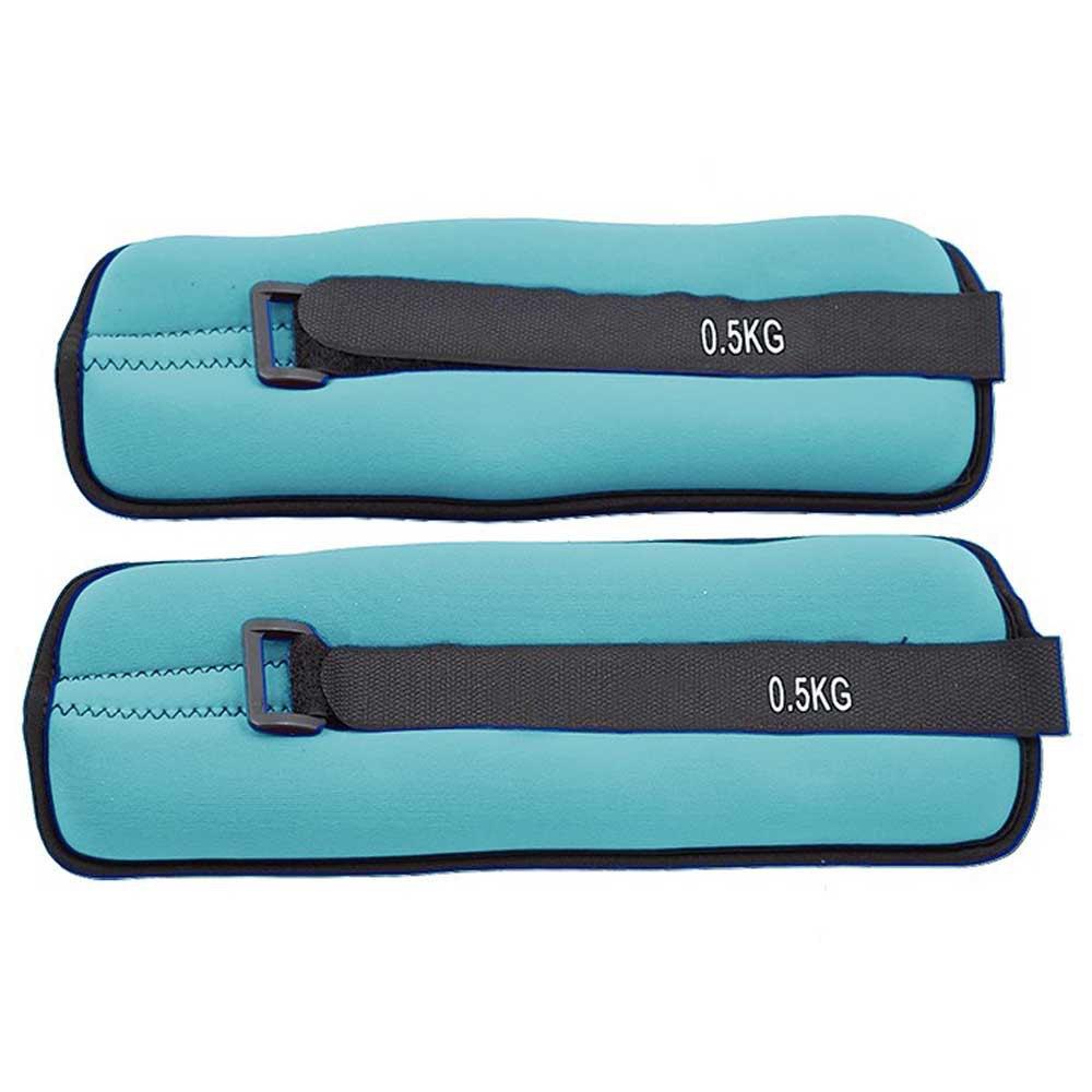 Softee Adjustable Angle / Wrist Weight Set 0.5 Kg 0.5 kg Light Blue