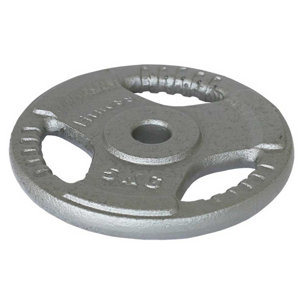 Softee Iron Plates With Handle 25 kg Grey