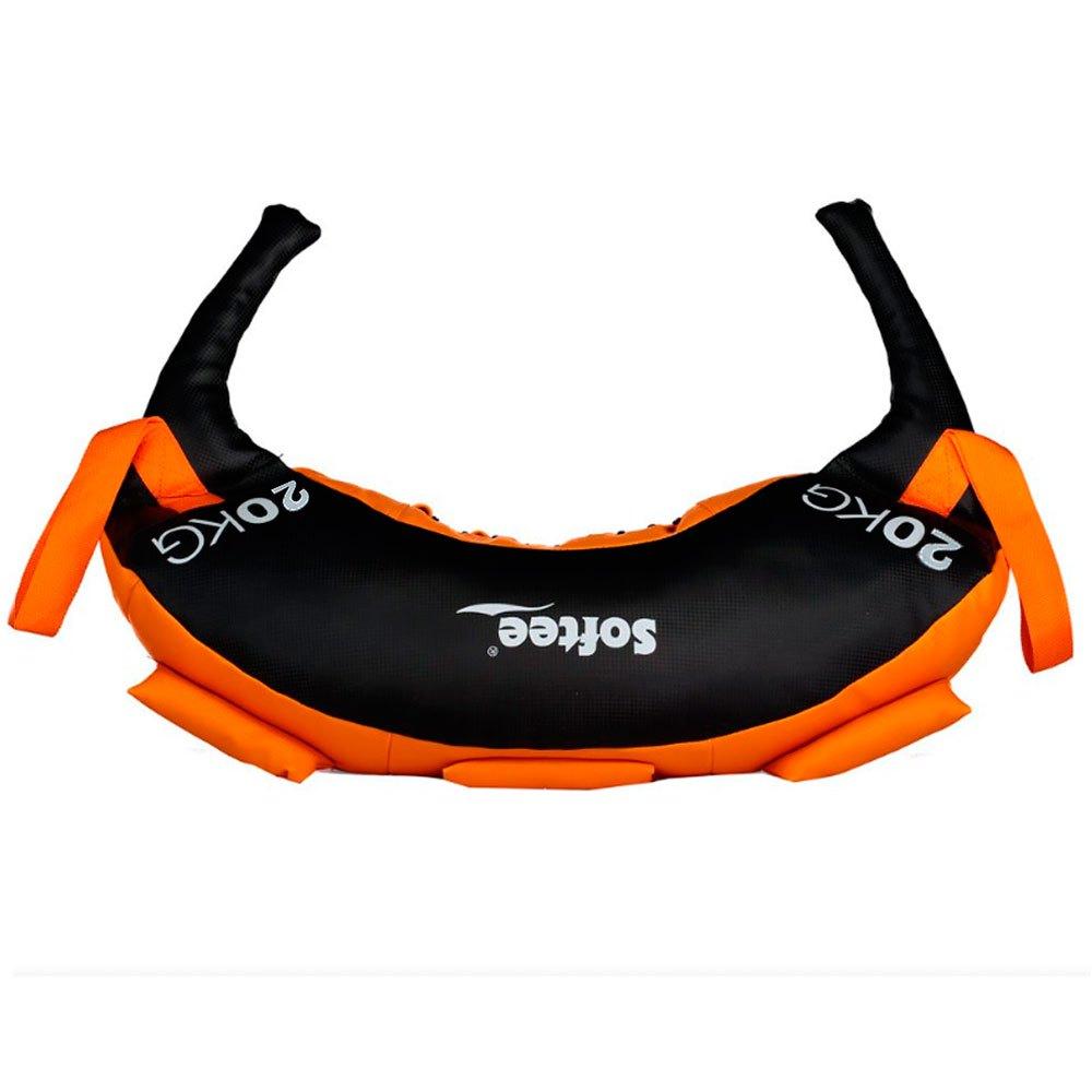 Softee Bulgaro Training Bag 20 Kg 20 kg Orange / Black