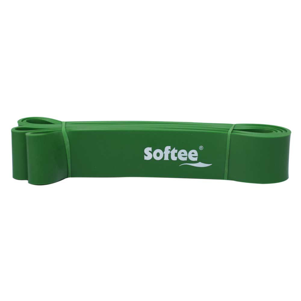 Softee Resistance Elastic Band 4.4 cm Green