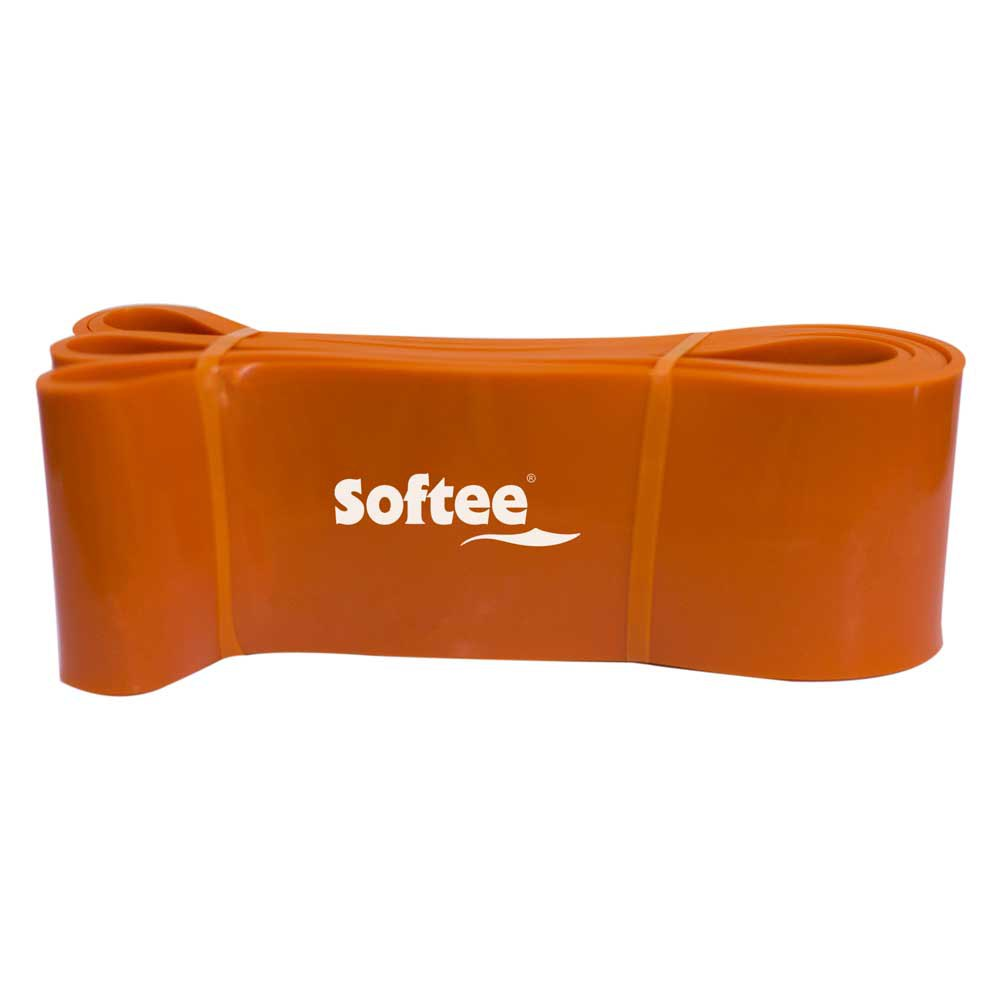 Softee Resistance Elastic Band 8.30 cm Orange