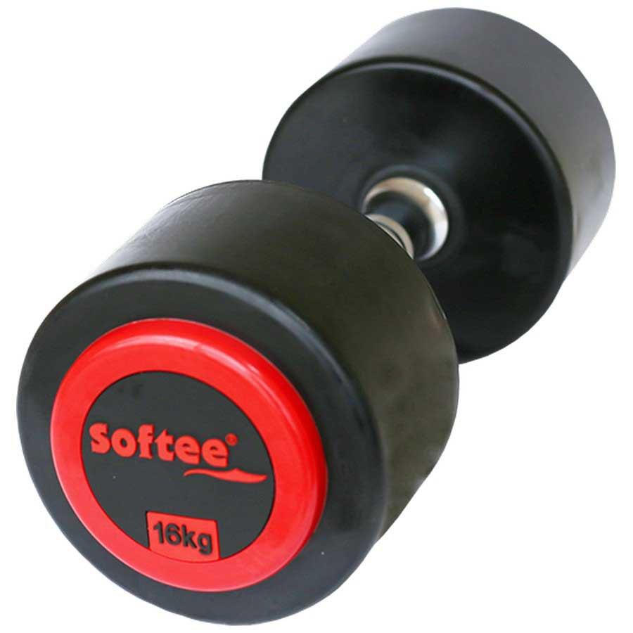Softee Pro-sport Dumbbell 16 Kg 16 kg Black