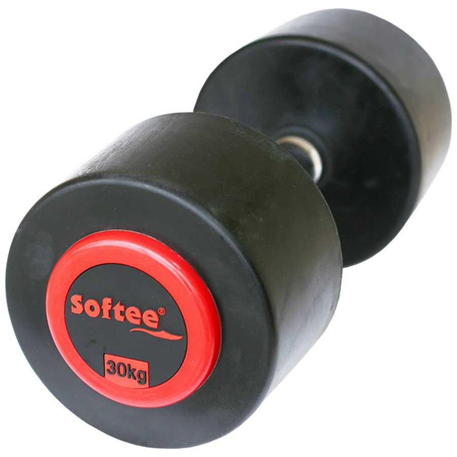Softee Pro-sport Dumbbell 30 Kg 30 kg Black