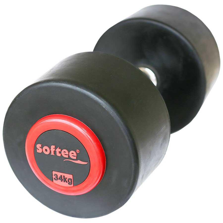 Softee Pro-sport Dumbbell 34 Kg 34 kg Black