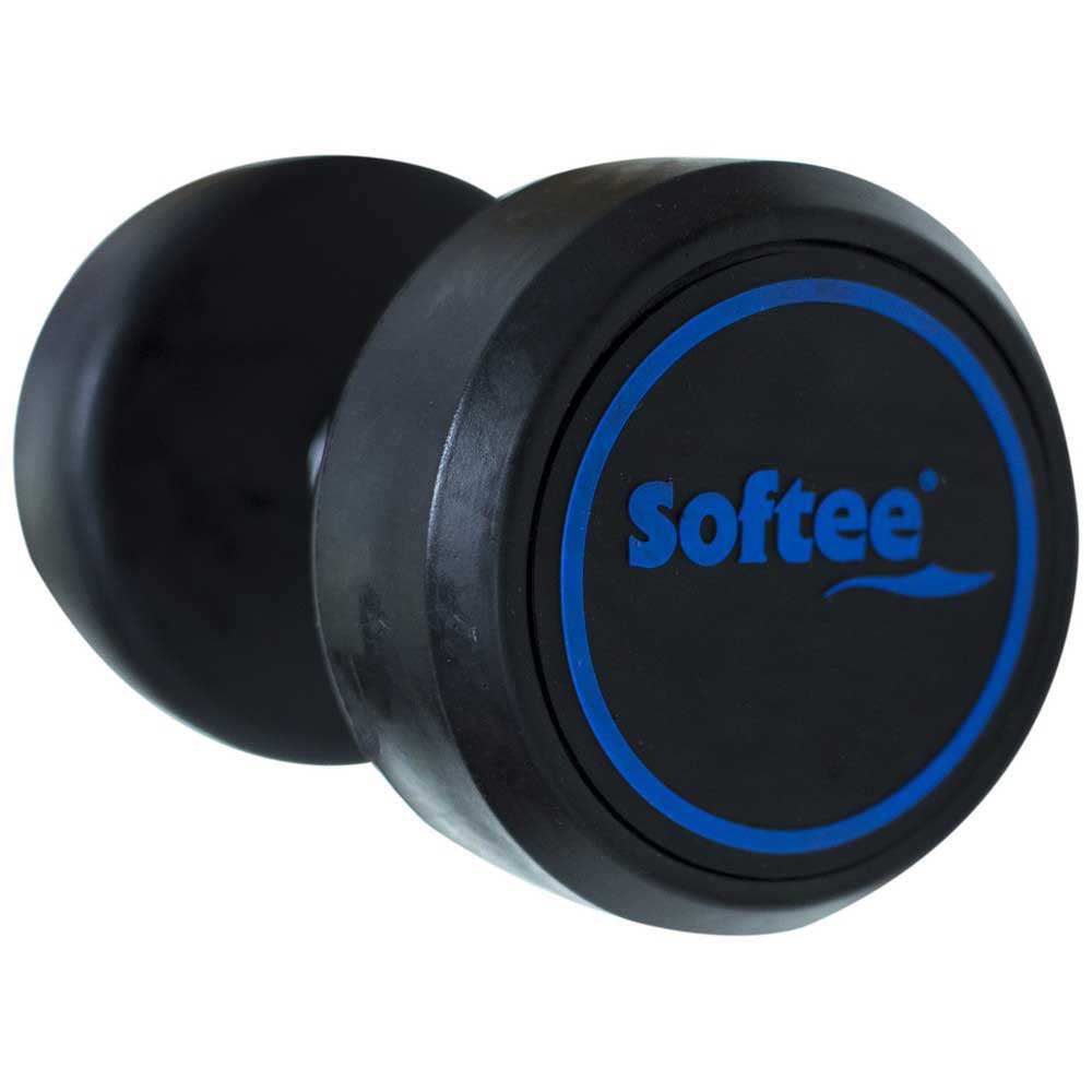 Softee Modern Dumbbell 18 Kg 18 kg Black