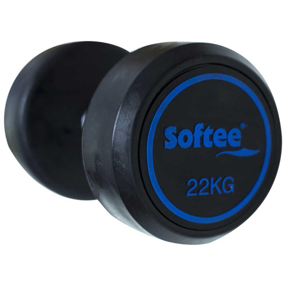 Softee Modern Dumbbell 22 Kg 22 Kg Black