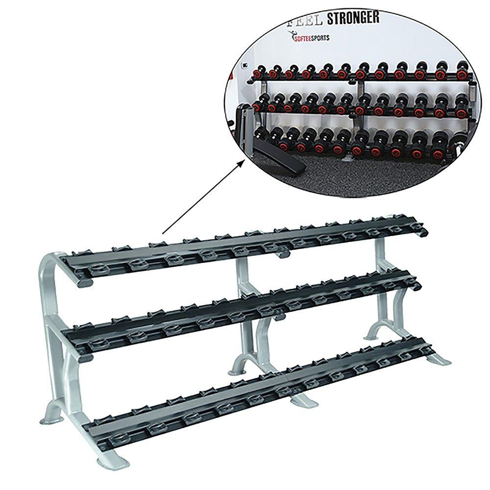 Softee Pro-sport Dumbbell Rack One Size Grey / Black