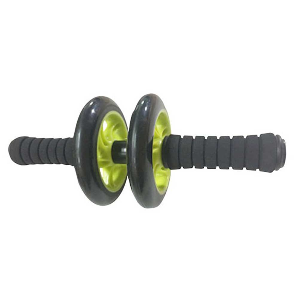 Softee Abdominal Training Double Wheel One Size Green