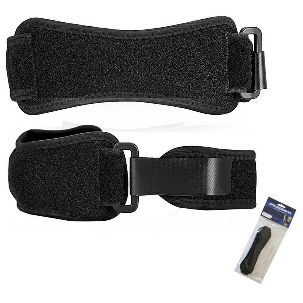 Softee Knee Strap One Size Black