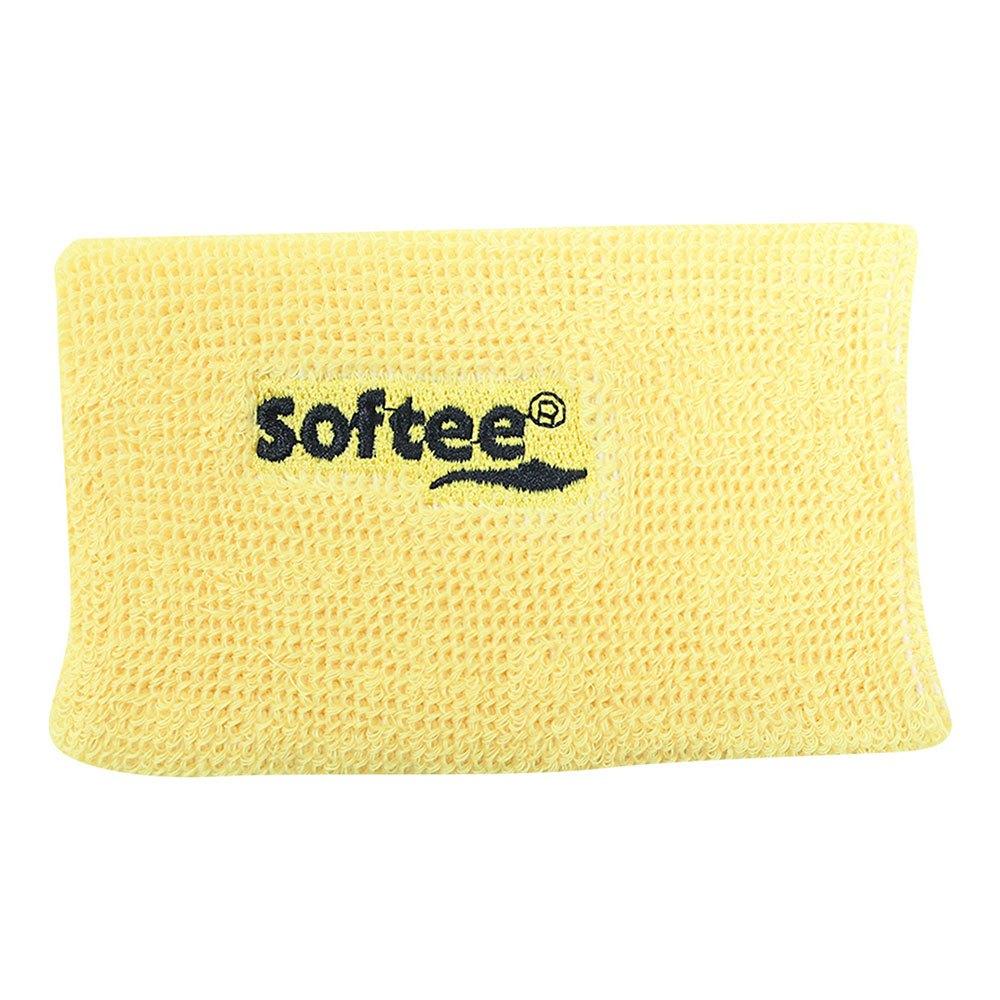 Softee Wide Wrist Band One Size Yellow