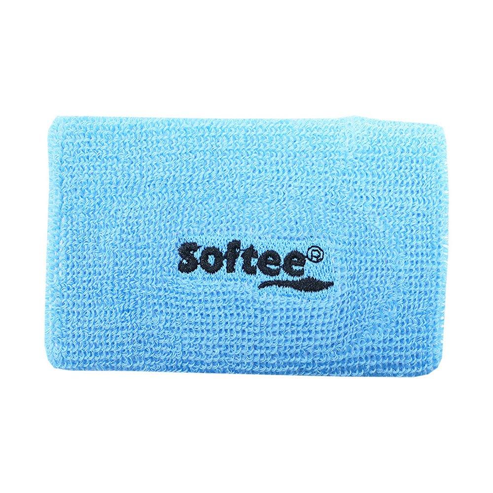 Softee Wide Wrist Band One Size Blue