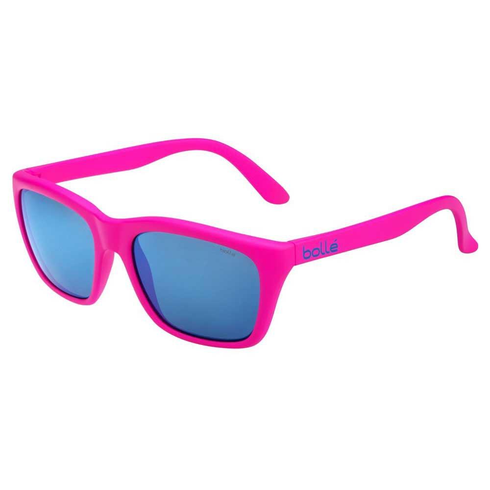 Bolle 527 Brown Blue/CAT3 Matte Neon Pink