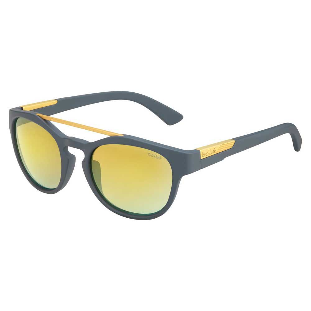 Bolle Boxton Brown Gold/CAT3 Matte Cool Grey
