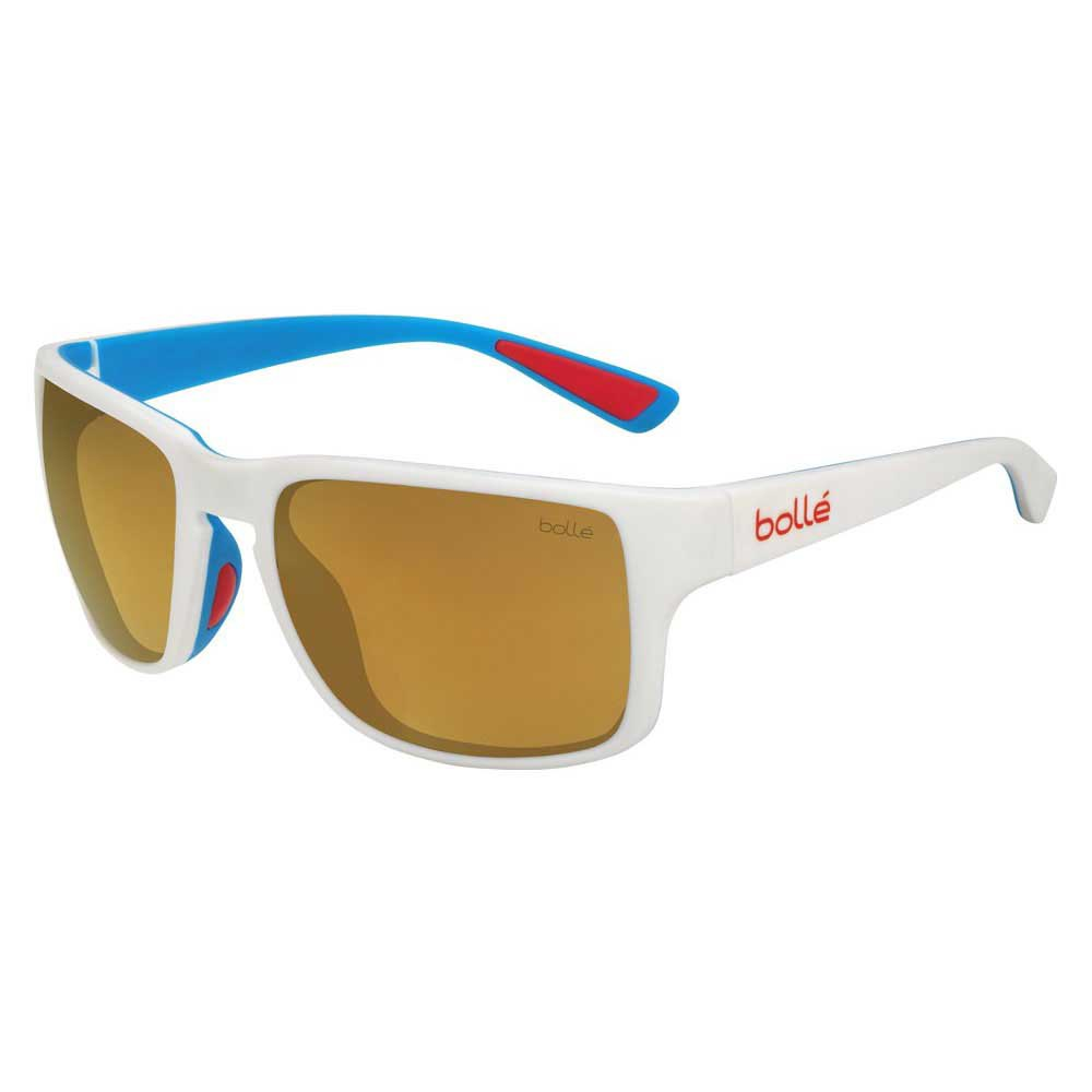 Bolle Slate HD Polarized Brown Gold/CAT3 Matte White