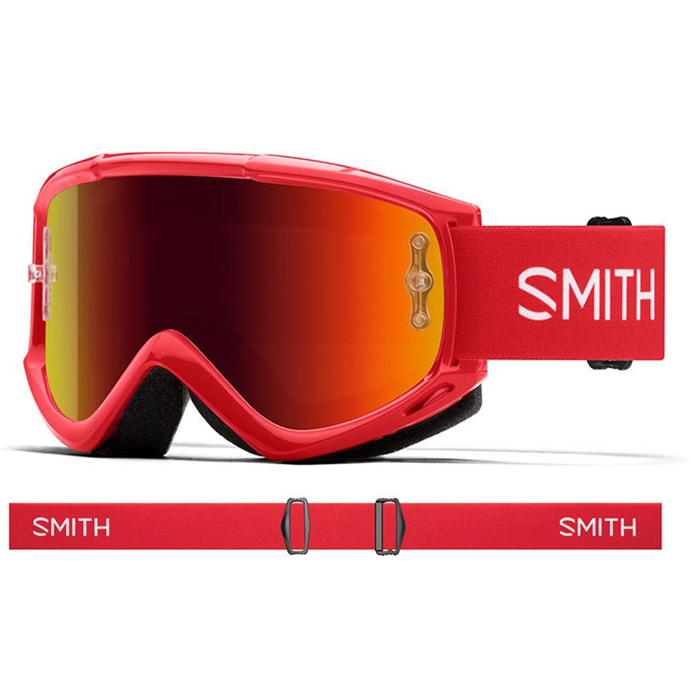 Smith Fuel V1 Max M Red Mirror Red Rock