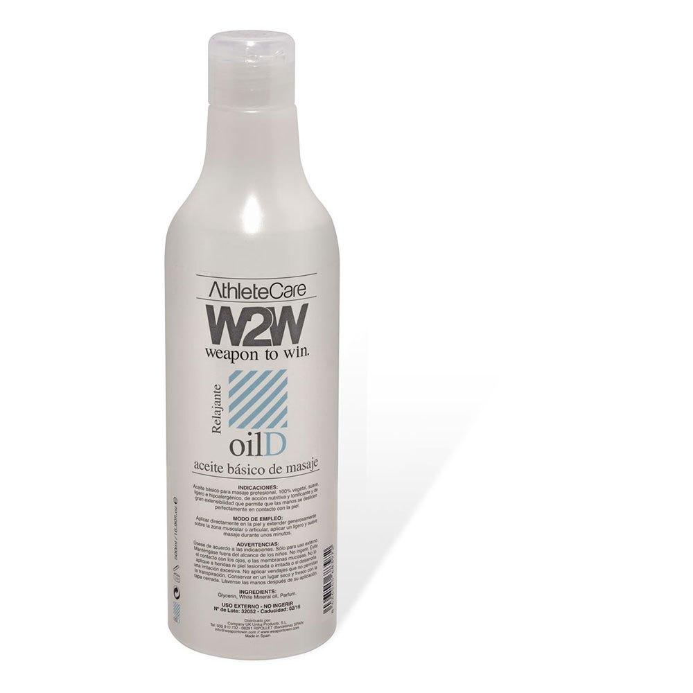 W2w Medical Basic Oil 500ml One Size Grey