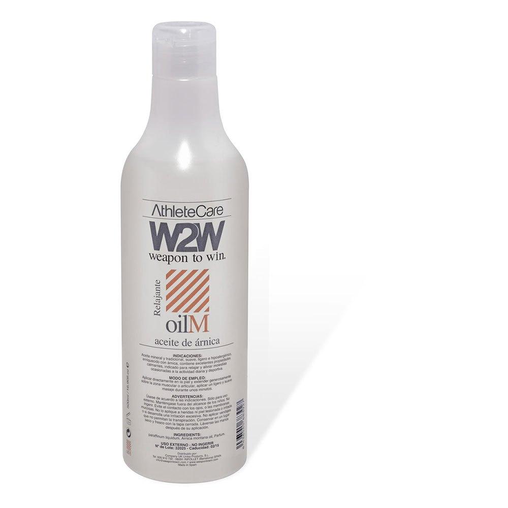 W2w Montana Arnica Oil 500ml One Size Grey