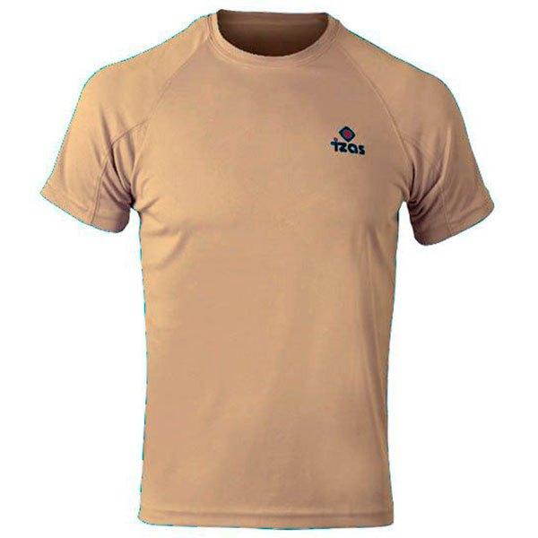 Izas T-shirt Manche Courte Creus XS Beige