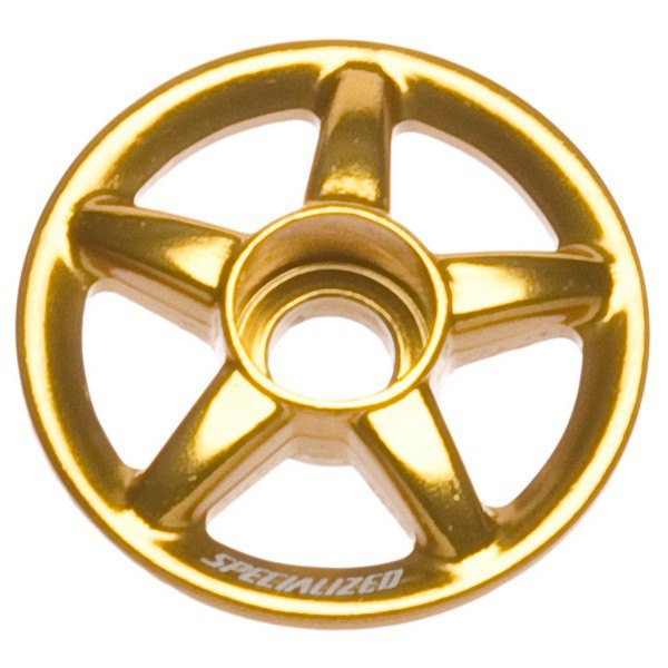Specialized Wagon Offset Wheel Top Cap One Size Anodized Gold