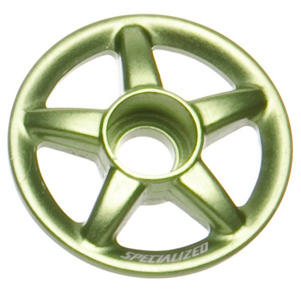 Specialized Wagon Offset Wheel Top Cap One Size Anodized Green