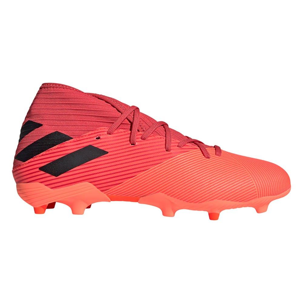 Adidas Chaussures Football Nemeziz 19.3 Fg EU 43 1/3 Signal Coral / Core Black / Glory Red