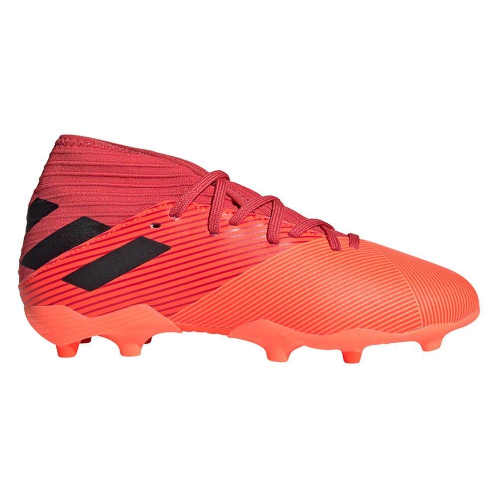 Adidas Chaussures Football Nemeziz 19.3 Fg EU 37 1/3 Signal Coral / Core Black / Glory Red