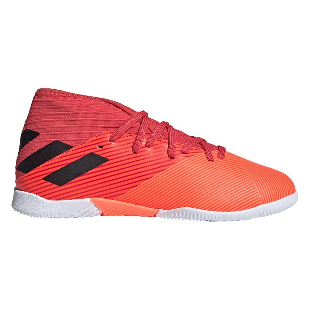 Adidas Chaussures Football Salle Nemeziz 19.3 In EU 32 Signal Coral / Core Black / Glory Red
