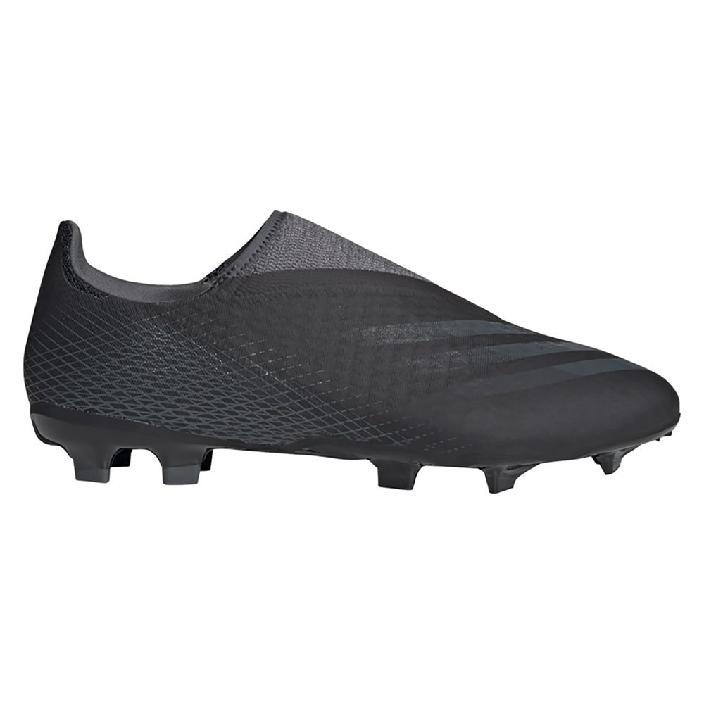Adidas X Ghosted .3 Laceless Fg EU 41 1/3 Core Black / Grey Six / Core Black