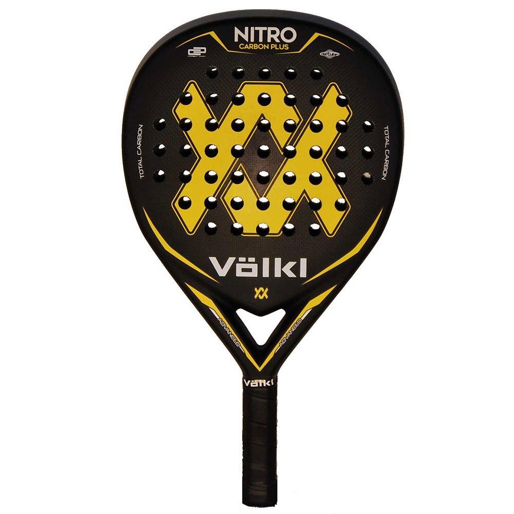 Volkl Padel Nitro Carbon One Size Black / Yellow