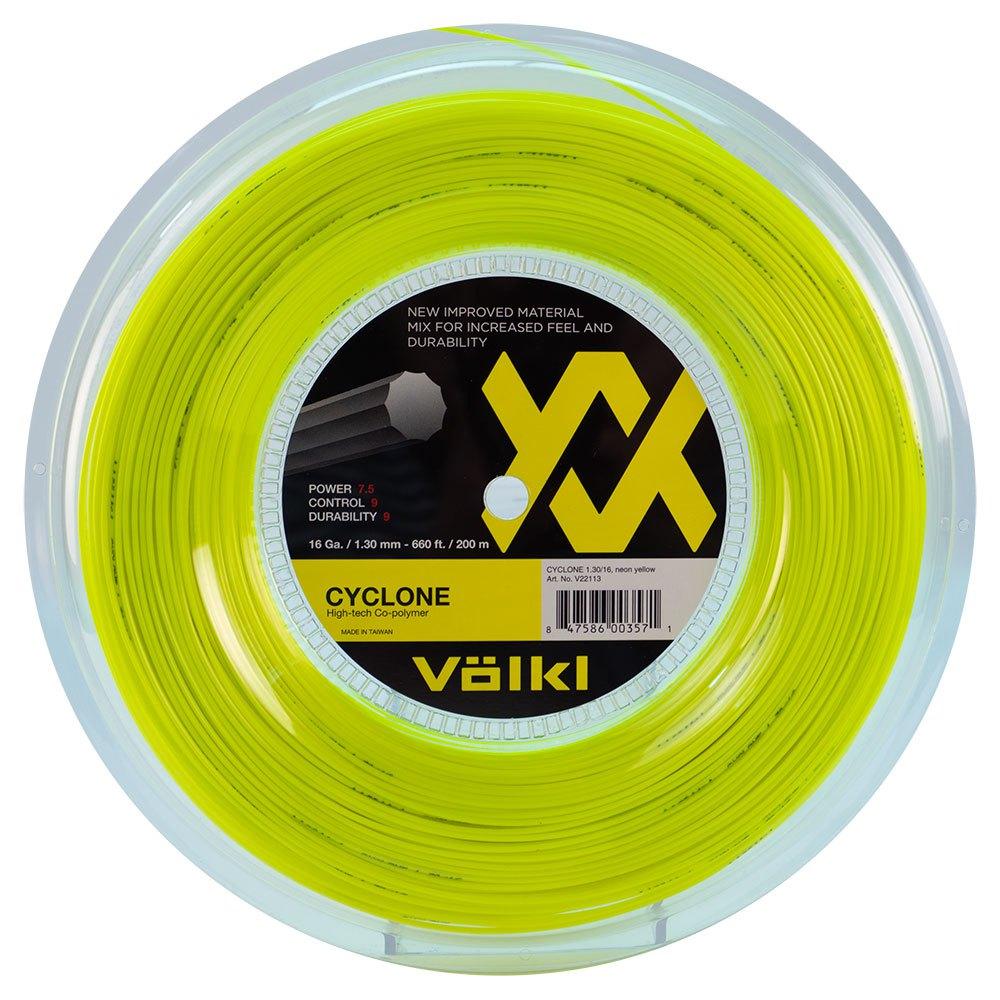 Volkl Tennis Cyclone 200 M 1.30 mm Neon Yellow
