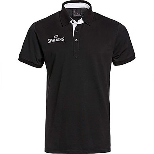 Spalding Polo Manche Courte Prime S Black